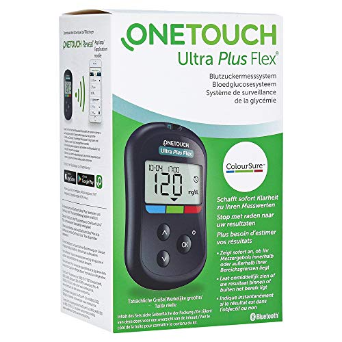 One Touch Ultra Plus Flex Blutzuckermessgerät mg/dL, 1 St preisvergleich
