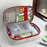MSmask Boîte médicale de premiers soins Croisement rouge de survie sac de rangement portable En cas d'urgence