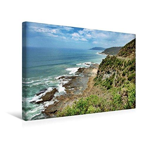 Premium Textil-Leinwand 45 cm x 30 cm quer, Port Campbell National Park | Wandbild, Bild auf Keilrahmen, Fertigbild auf echter Leinwand, Leinwanddruck (CALVENDO Natur)