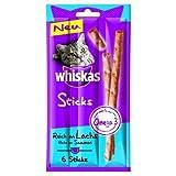 Whiskas Sticks Reich an Lachs 6St (36gr.)