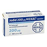 Jodid 200 HEXAL, 100 St. Tabletten