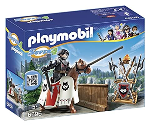 Playmobil - 6696 - Super4 - Rypan - Gardien Du Baron (4 A Castello)