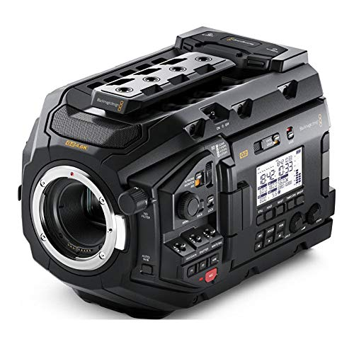 Imagen de Videocámaras 4K Blackmagic Design por menos de 6250 euros.