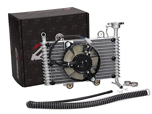 Lüfter Kühler-kit (Moturo Kühler Kit m. Lüfter Shineray STIXE 250 ATV, Quad)