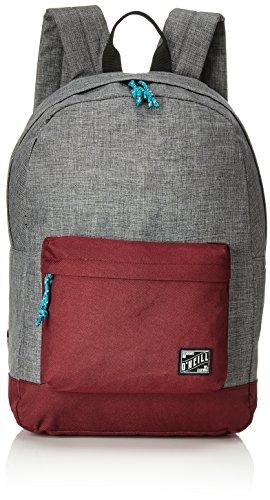 O'Neill - Bm Coastline Backpack, Mochilas Hombre, Grau (Mid Grey Melee), 13x31x46 cm (B x H T)