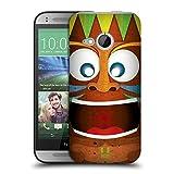 Head Case Designs Verrückt Tiki Kollektion Ruckseite Hülle für HTC One mini 2
