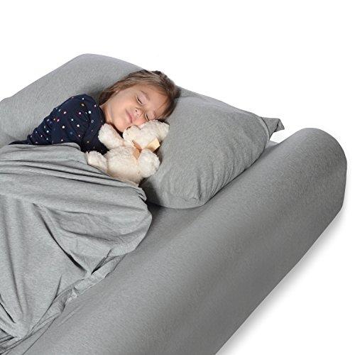 Milliard Cama espuma parachoques seguridad carril protector para cuna cama para niños pequeños cama Junior
