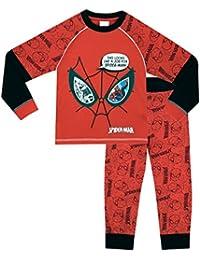 Spiderman Boys Spider-Man Pyjamas Glow In The Dark Ages 2 to 10 Years