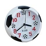 TOOGOO Creative Football Reveil Bureau Reveil Etudiant Bureau Reveil Horloge ronde reveil numerique horloge de...
