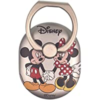 DISNEY Smart Ring [ Ring Stand Holder ] 360 Degree Rotating Kickstand [ Light Anti Drop Finger Phone Grip Ring ] Universal Smartphone Compatible - Face Mickey Mouse and Minnie Mouse