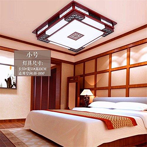 XIN HOME Moderne Chinesische Kunst Aus Holz Led Deckenleuchte Augenschutz  Augenschutz Schlafzimmer L