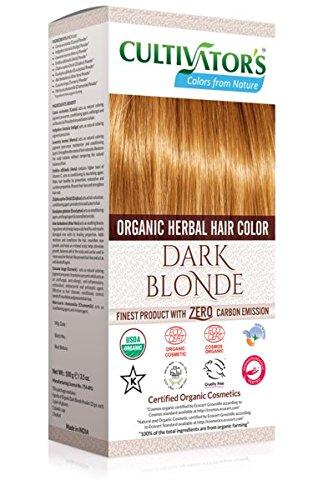 Cultivator's Organic Herbal Hair Colour - Dark Blonde