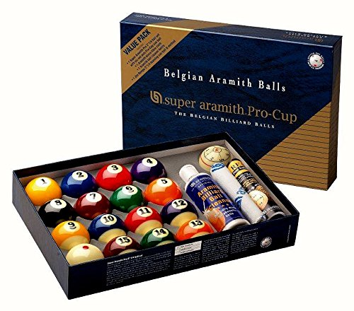 Kugelsatz Super-Aramith Pro Cup Value Pack 57,2 mm 1400.17