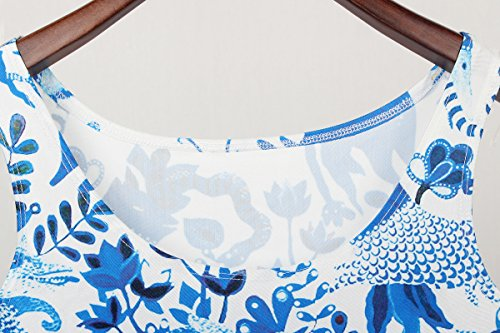Thenice Damen Top, Animalprint Mehrfarbig mehrfarbig Animal paper-cut