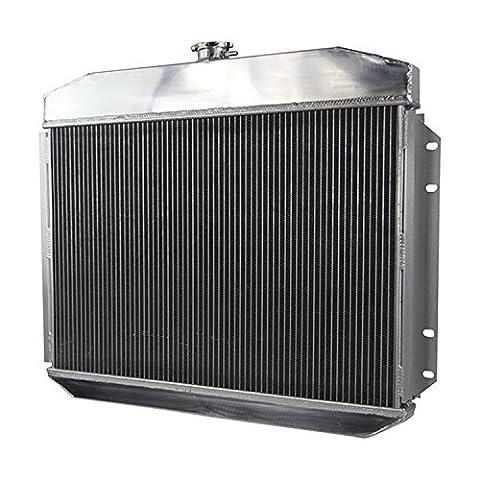 Gowe automatique Système de refroidissement Racing New Radiateur en Aluminium pour 3rangées 61–64Ford F-350Micro camions