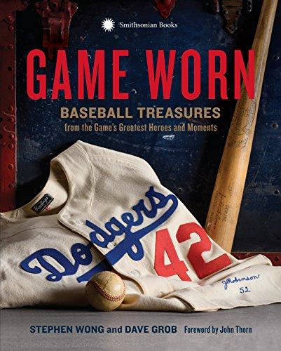 Zoom IMG-1 game worn baseball treasures from