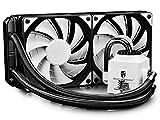 DEEPCOOL CAPTAIN 240 EX WHITE Tout-en-un Watercooling radiateur 240mm AIO CPU Watercooler Ventilateurs de processeur PC Eclairage LED