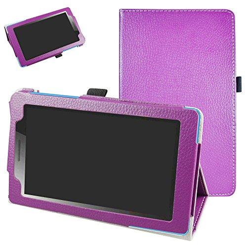 Lenovo TAB3 A7-10 / Tab 3 7 Essential hülle,Mama Mouth Folding Ständer Hülle Case mit Standfunktion für 7