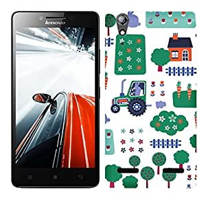 WOW 3D Printed Designer Mobile Case Back Cover For Lenovo A6000