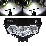 T6 LED Fahrradlampe Cree Fahrradbeleuchtung Fahrradlicht mountainbike licht Fahrrad Frontlicht wasserdicht Radsport 5000/6200LM 3 Cree