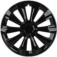 Cartrend Unitec 75478 Delta Tapacubos, 16 pulgadas, color negro