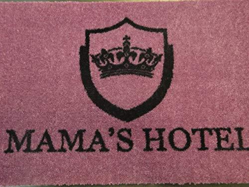 Fancy Felpudo Mama 's Hotel 60x 40cm Felpudo Lavable Matte