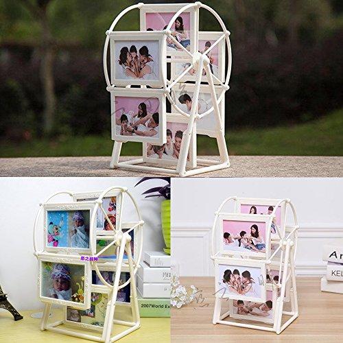 Familie Windmühle Spin Frame für Kinder Eltern Erinnerungen Altes Foto (Drehen, Sah)