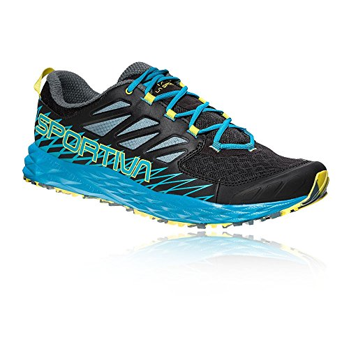 La Sportiva Lycan, Scarpe da Trail Running Uomo, Multicolore (Black/Tropical Blue 000), 42.5 EU