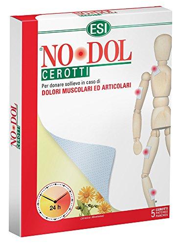 Esi No-Dol cerotti per curare dolori muscolari e articolari- 5 cerotti