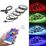 HAIT LED-Lichtleiste TV-Hintergrundlicht Bluetooth USB App Handy-Controller