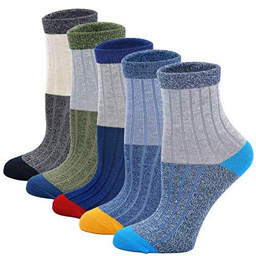 LOFIR calzini cotone bambini calza ragazzi bambino piccolo casuale gli sport scuola calzini colorato modello sneaker calzini taglia 20 34 per età 2
