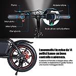 MoovWay-Bicicletta-Elettrica-Pieghevole-con-Pedali-Sedile-Regolabile-Compatta-Portatile-velocit-Massima-25kmh-Autonomia-20km-Pneumatici-14-Pollici-Nero