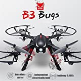 Kingtoys MJX Bugs 2 WIFI FPV Drone Quadcopter Camera Drone with 1080P 5G Wifi Camera Brushless Motor 1KM Control Distance -18-20mins Flying Time with GPS Function from Haibei