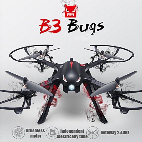 MJX B3 Profi Quadrocopter Drohne mit Aktionkamera-Halterung für Gopro Bürstlose Motoren 6A Elektrizitätsregulierung 2.4G Fernsteuer 4CH 6-Achsen Gyro 3D Rollen Funktion Drone für Profi Training Put teaching Northern shackles ohne Kamera und Gimbal