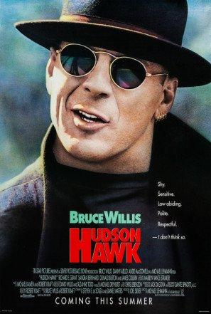 Hudson Hawk - Bruce Willis - U.S Movie Wall Poster Print - 43cm x 61cm / 17 Inches x 24 Inches A2 - Hudson Movie Poster