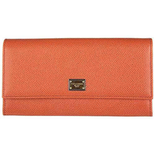 Dolce&Gabbana damen Geldbörse rosso arancio