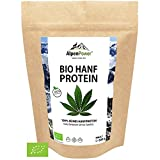 ALPENPOWER   BIO HANFPROTEIN aus Österreich   Ohne Zusatzstoffe   100% reines Hanfprotein   Hochwertiges Eiweiß   Vegan   Vielseitig anwendbar   Low Carb   Organic Hemp Protein   600g