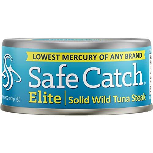 Safe Catch Pacchetto tonno Wild Tuna Elite da 6 unità