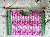 MangeooEuropäischen und Amerikanischen Stil aus Reiner Baumwolle Cartoon Print Cut Kinder Kapuzen Badetuch, Kap Bademantel 58 * 86 cm, Multi Seahorse