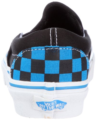 Vans U CLASSIC SLIP-ON, Sneaker Unisex Adulto Blu (Checkerboard) Brilliant Blue/Black)