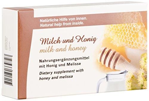 plantoCAPS® Milch und Honig Kapseln nach altbewährtem 100% NATÜRLICHEM Rezept