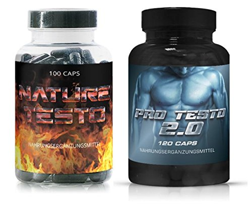 PRO-Testosterone-Nature-Testo--Double-Pack-of-220-Capsules--Extreme-Focus--Extreme-Power--Testosterone-Boost