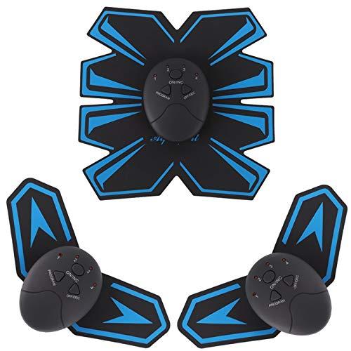 S&W Elettrostimolatore per Addominali, Elettrostimolatore Muscolare, Trainer Bodybuilder Muscoli Braccio del Corpo...