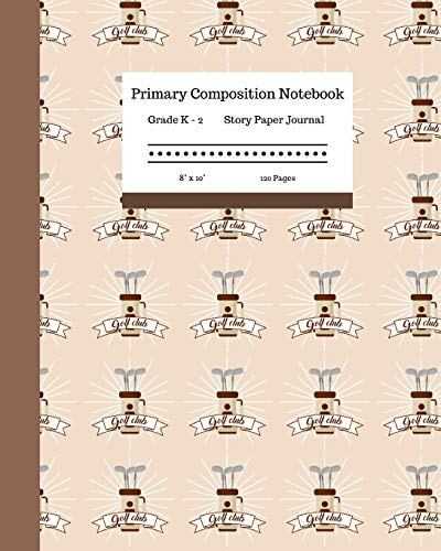 Club-cover-set (Primary Composition Notebook Grades K-2 Story Paper Journal 8