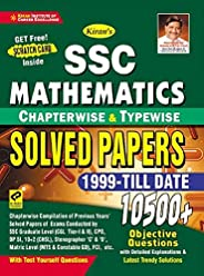 Kiran SSC Mathematics Chapterwise And Typewise Solved Papers 10500+ Objective Questions (English Medium) (3035