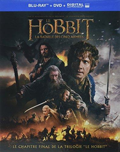 Le hobbit 3 : la bataille des cinq armées [Blu-ray] [FR Import]