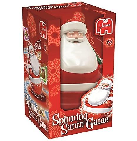 Jumbo Spinning Santa Tumble und Spin Memory-Spiel (rot)
