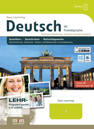 Strokes Easy Learning Deutsch 1 Version 6.0