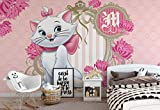 Wallsticker Warehouse Disney Aristocats Marie Fototapete - Tapete - Fotomural - Mural Wandbild - (802WM) - XL - 208cm x 146cm - VLIES (EasyInstall) - 2 Pieces