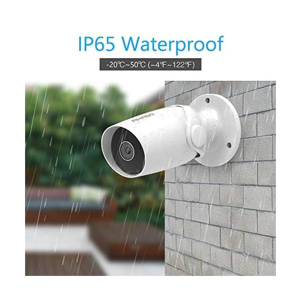 AKASO-IP-Telecamera-Wi-Fi-Esterno-1080P-Lavora-con-Alexa-Google-Home-IP65-Impermeabile-Audio-Bidirezionale-Accesso-Remoto-Rilevamento-de-Movimento-Archiviazione-SchedaCloud